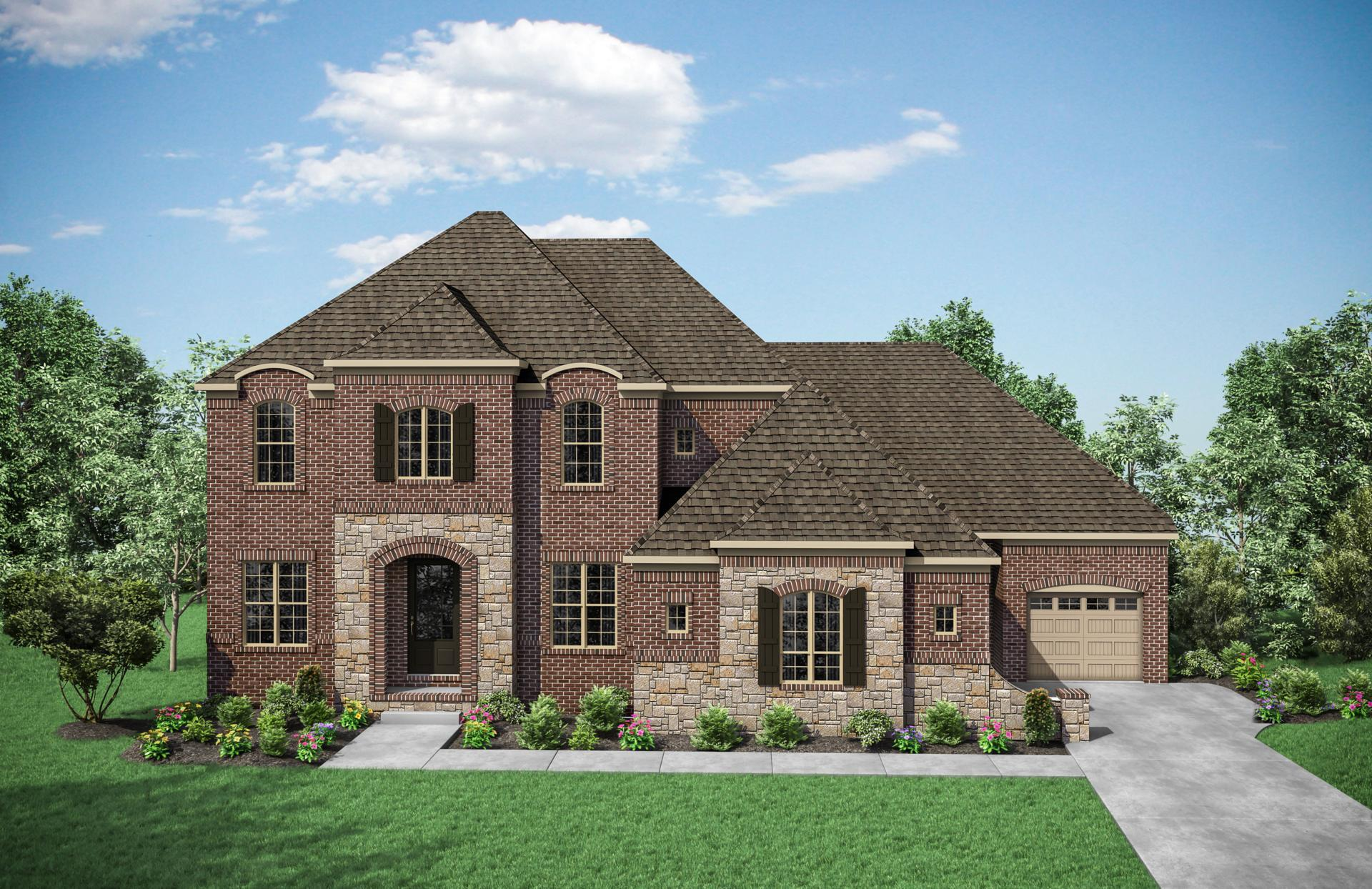 Exterior featured in the Belterra By Drees Homes in Nashville, TN