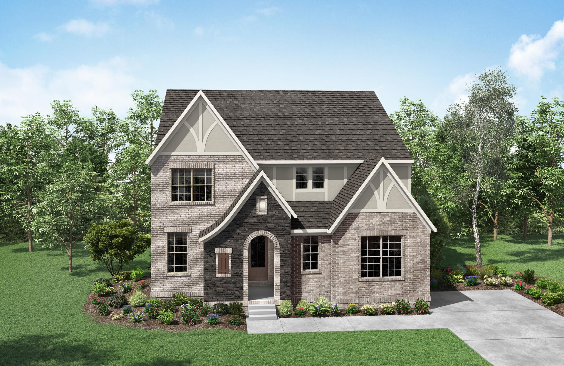 Exterior featured in the Brookston By Drees Homes in Nashville, TN