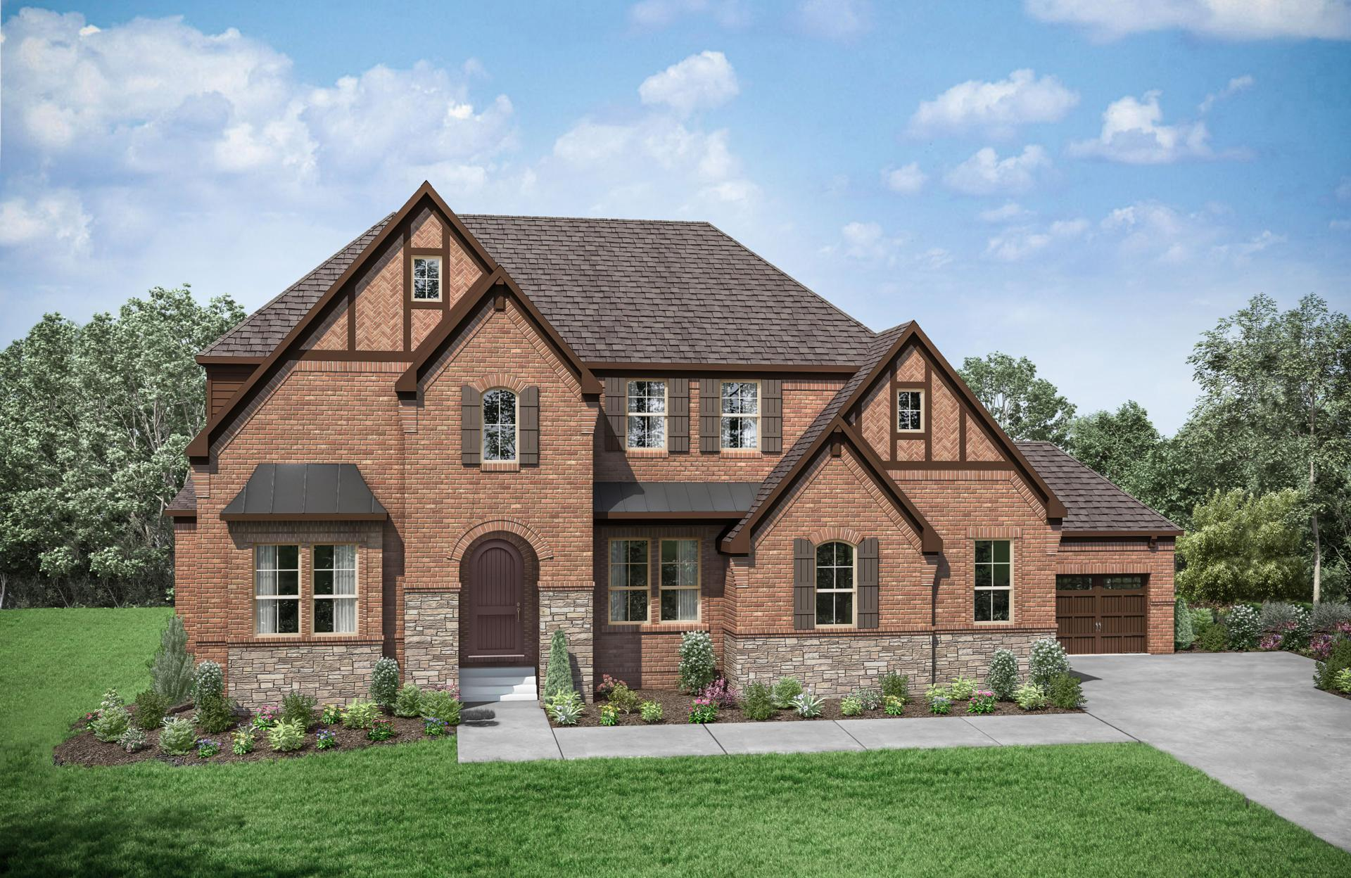 Exterior featured in the Colinas II By Drees Homes in Nashville, TN