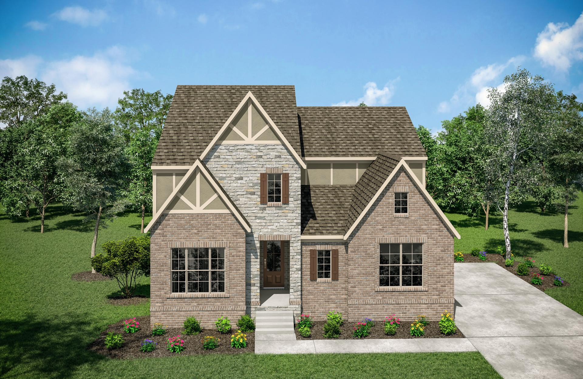 Exterior featured in the Collette By Drees Homes in Nashville, TN