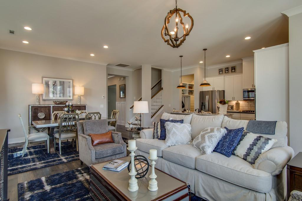 Living Area featured in the Collette By Drees Homes in Nashville, TN