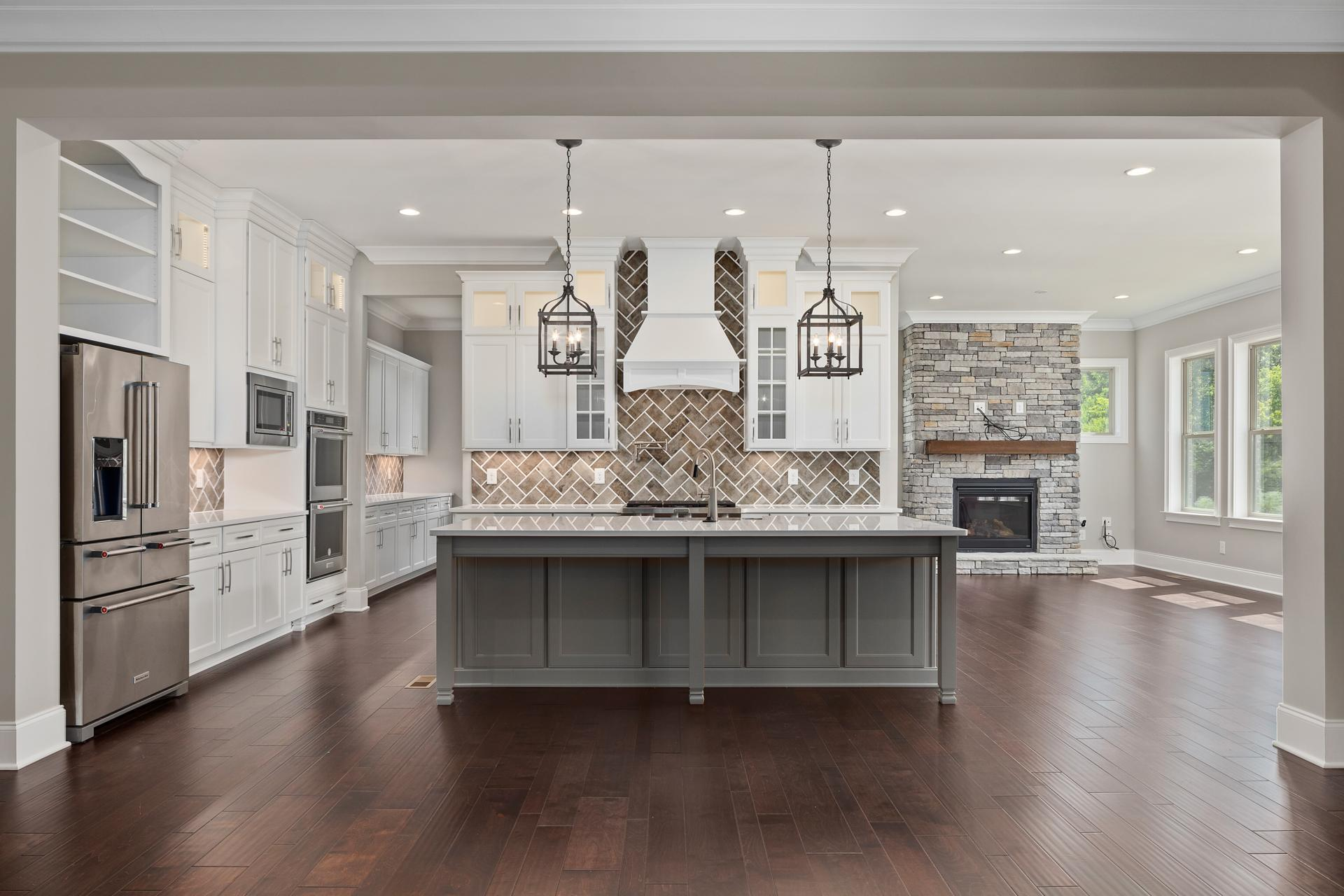 Kitchen featured in the Dresden By Drees Homes in Nashville, TN