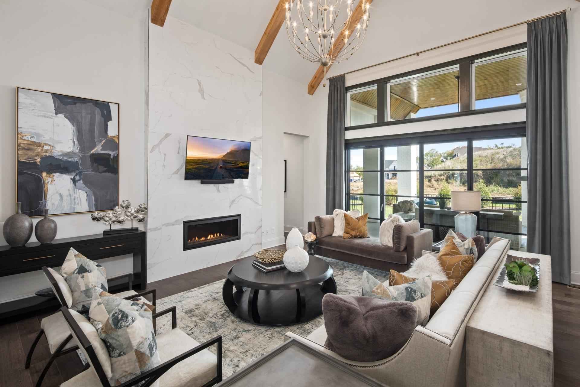 Living Area featured in the Elmsdale By Drees Homes in Nashville, TN
