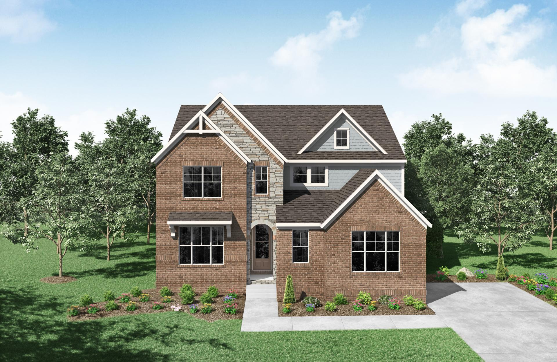 Exterior featured in the Everly By Drees Homes in Nashville, TN