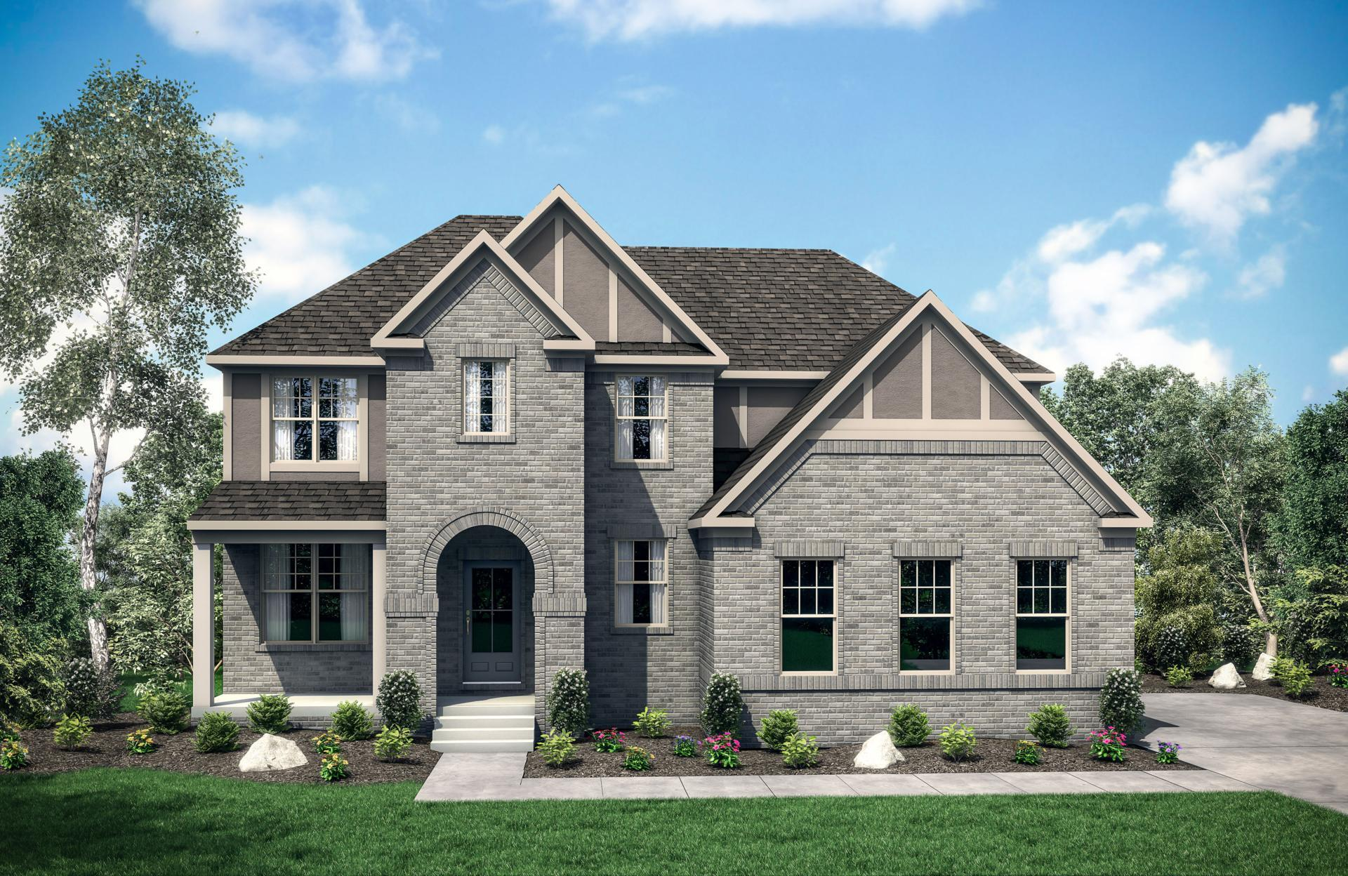 Exterior featured in the Karey By Drees Homes in Nashville, TN