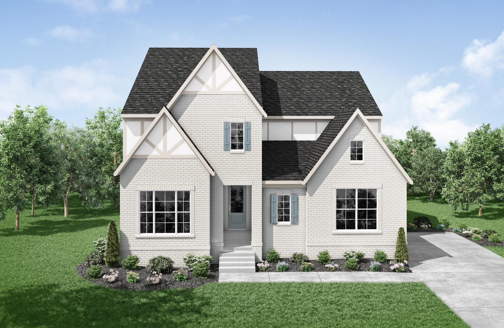 Exterior featured in the Kinsley By Drees Homes in Nashville, TN
