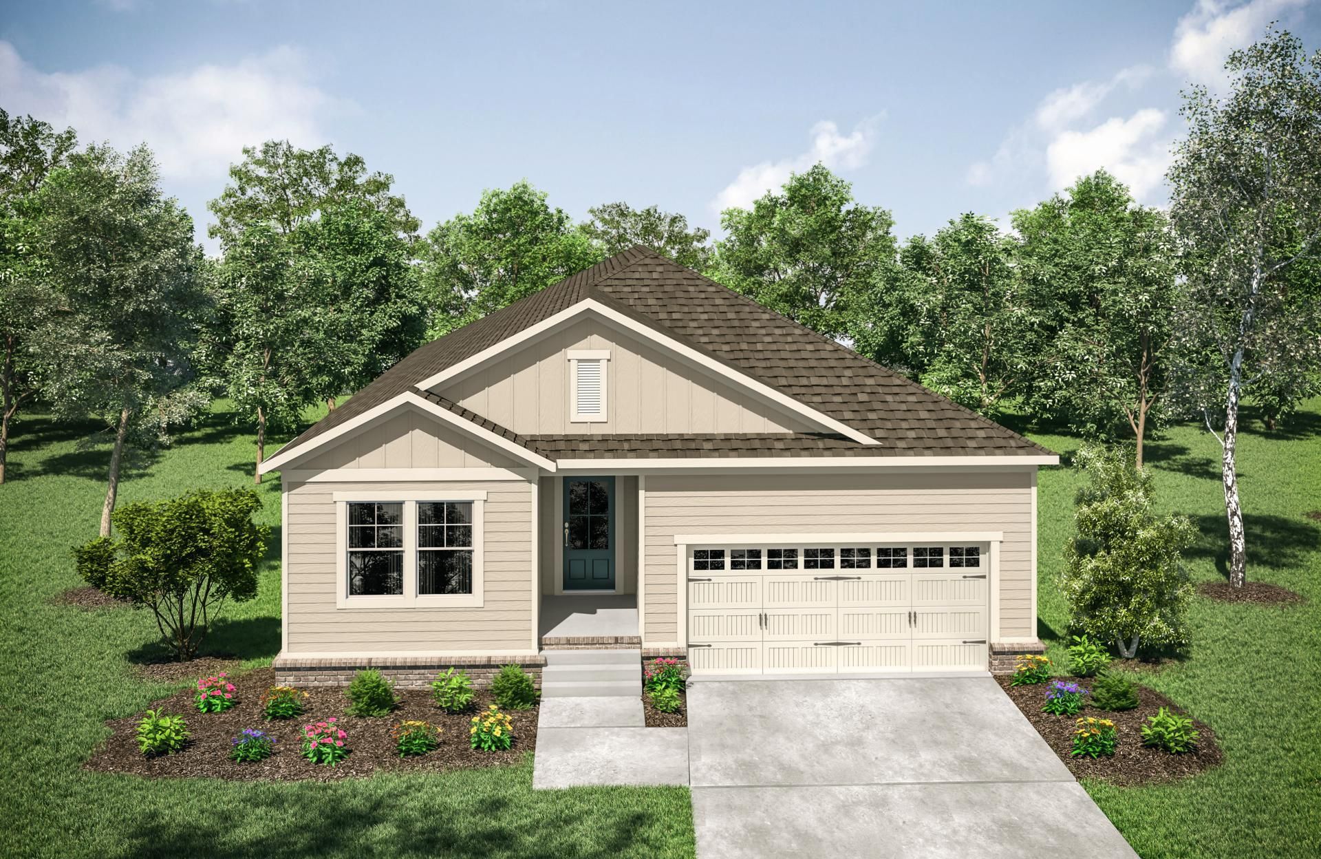 Exterior featured in the Roseland By Drees Homes in Nashville, TN