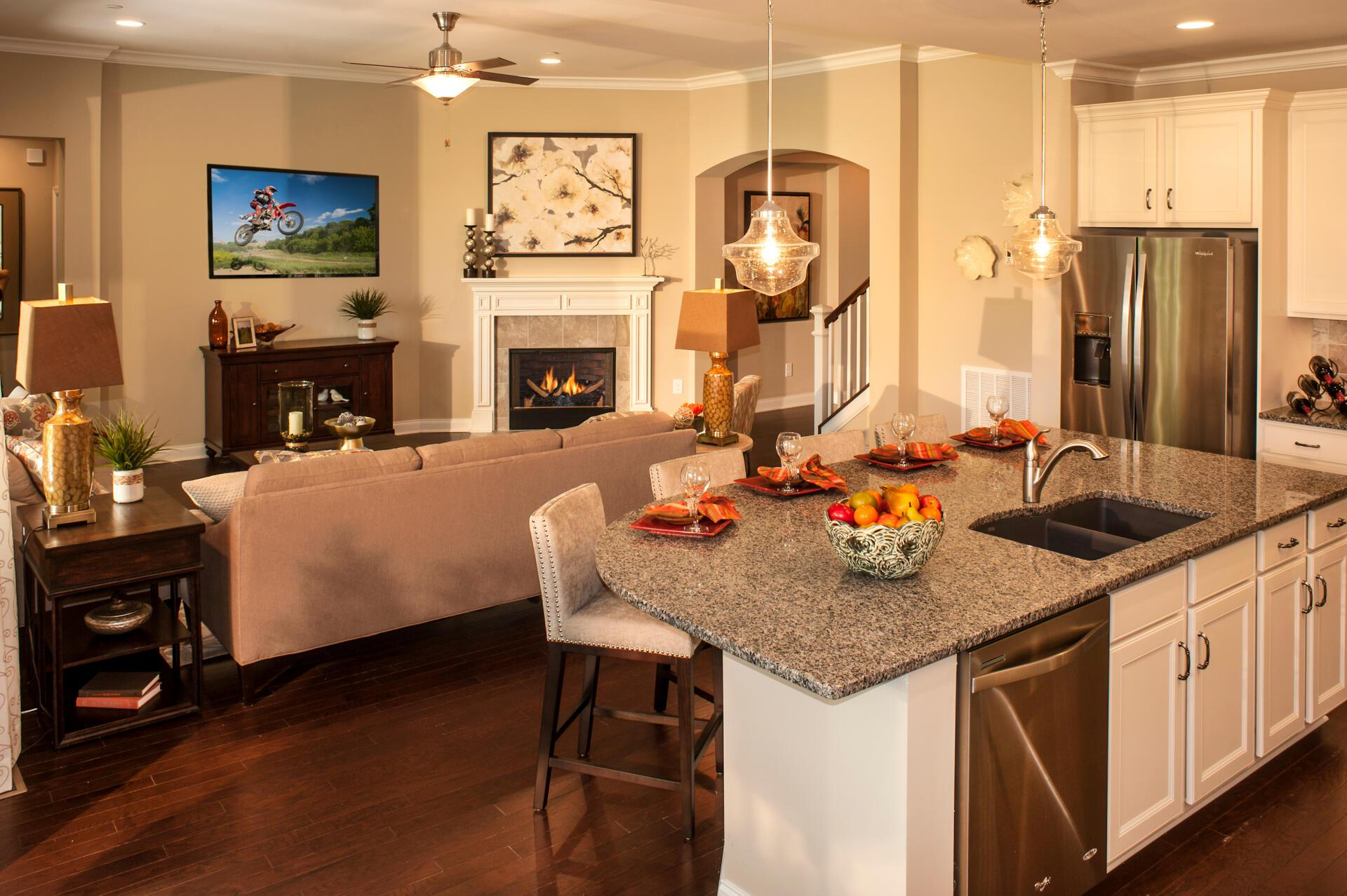Living Area featured in the Woodbury By Drees Homes in Nashville, TN