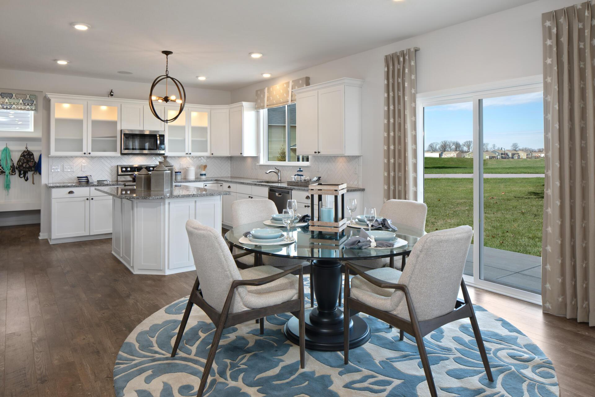 Kitchen featured in the Walkerton By Drees Homes in Indianapolis, IN
