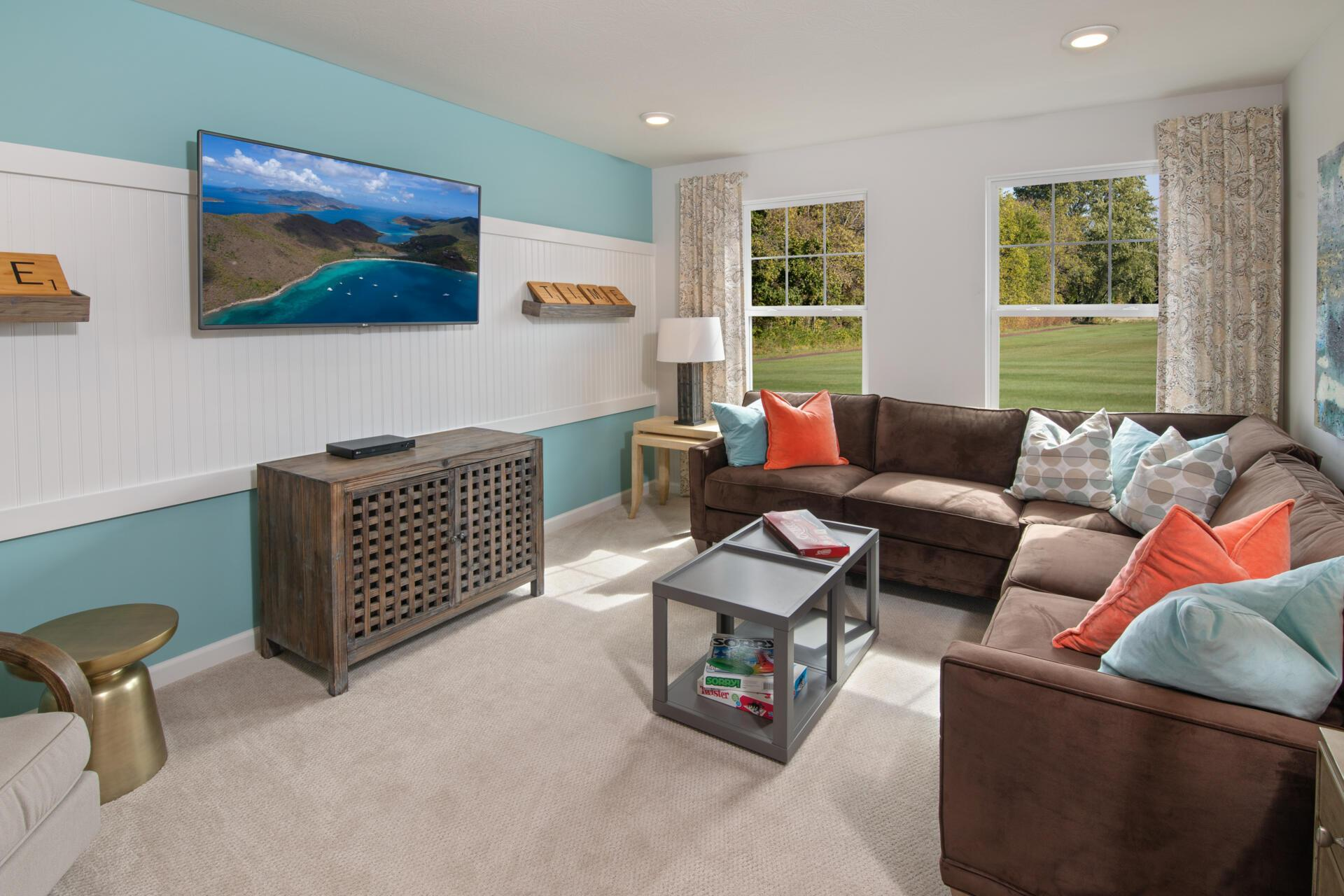 Living Area featured in the Walkerton By Drees Homes in Indianapolis, IN