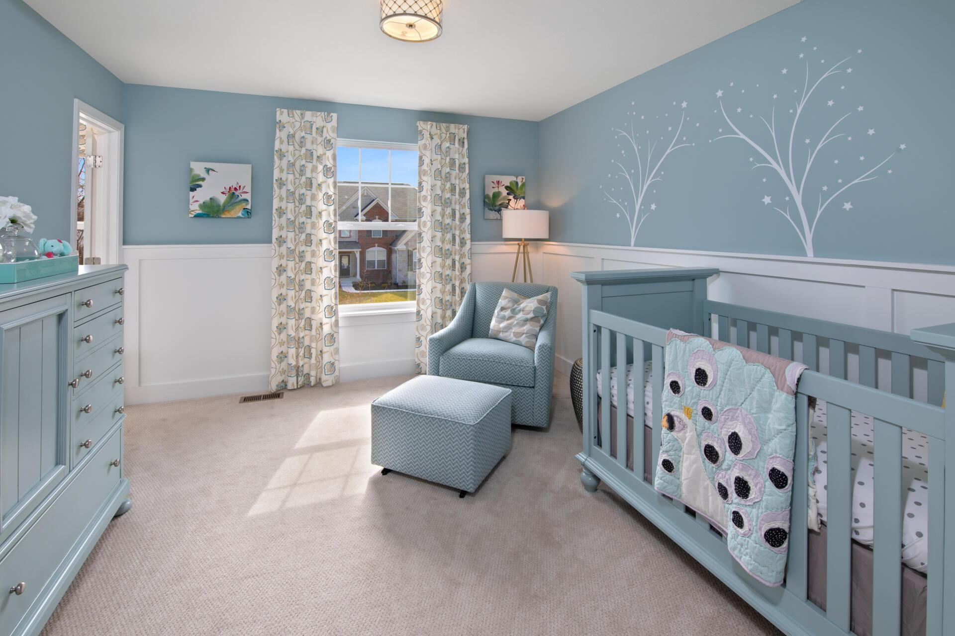 Bedroom featured in the Walkerton By Drees Homes in Indianapolis, IN