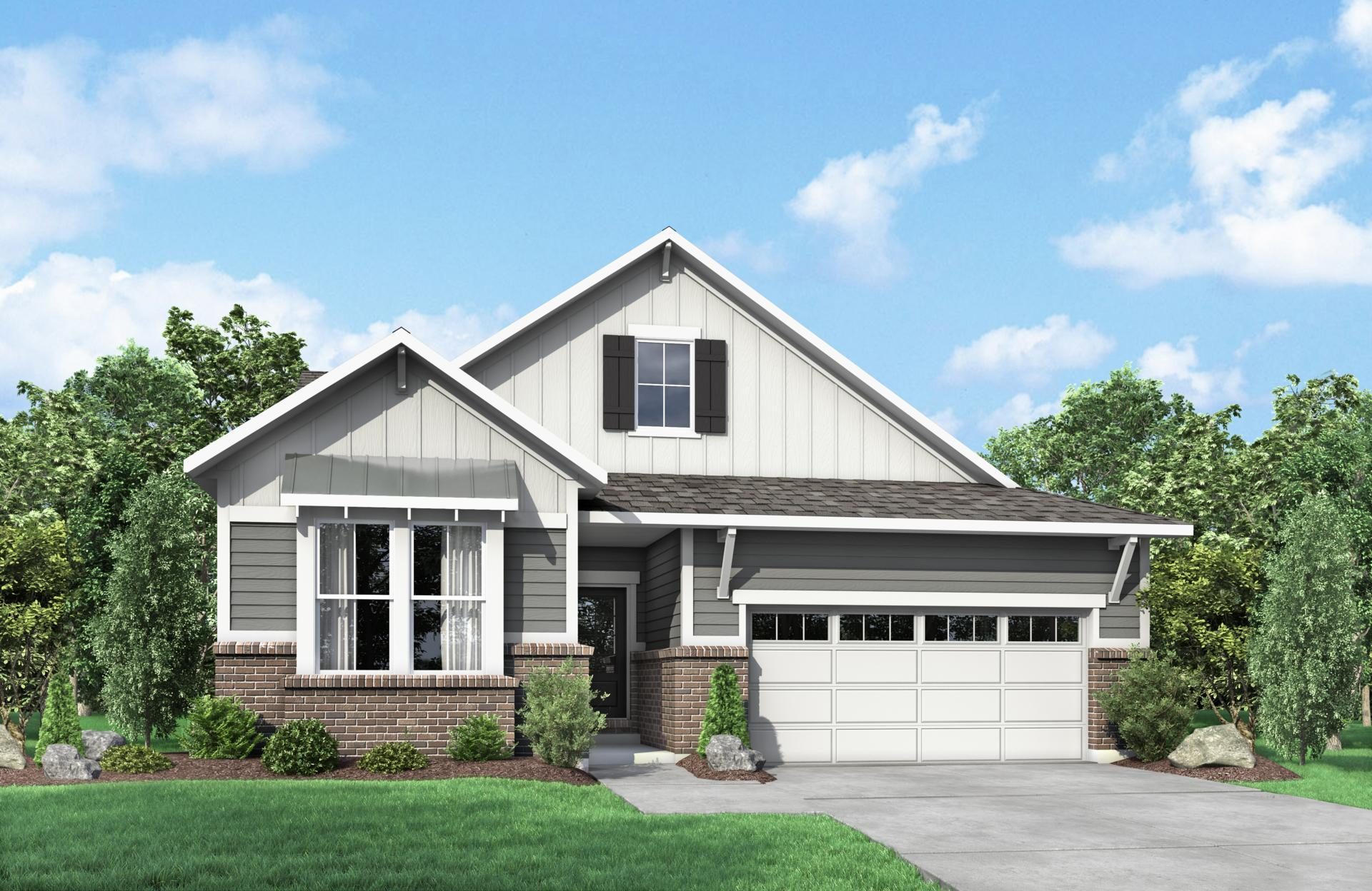 Exterior featured in the Clearwater By Drees Homes in Cincinnati, KY