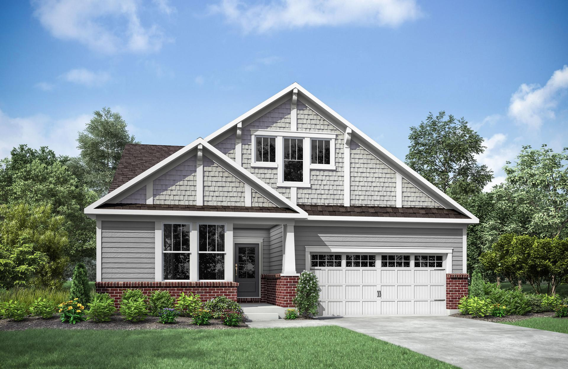 'The Woodlands - Villas' by Drees Homes in Cincinnati