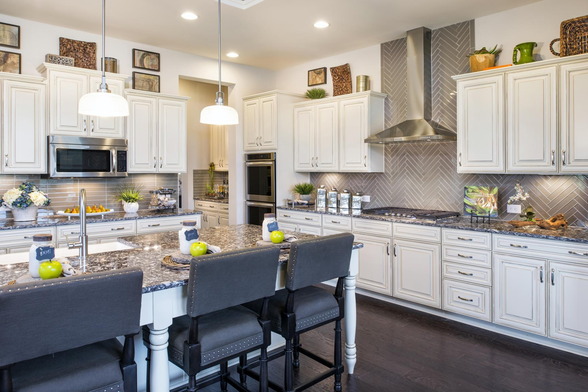 Kitchen featured in the Monticello By Drees Homes in Washington, VA