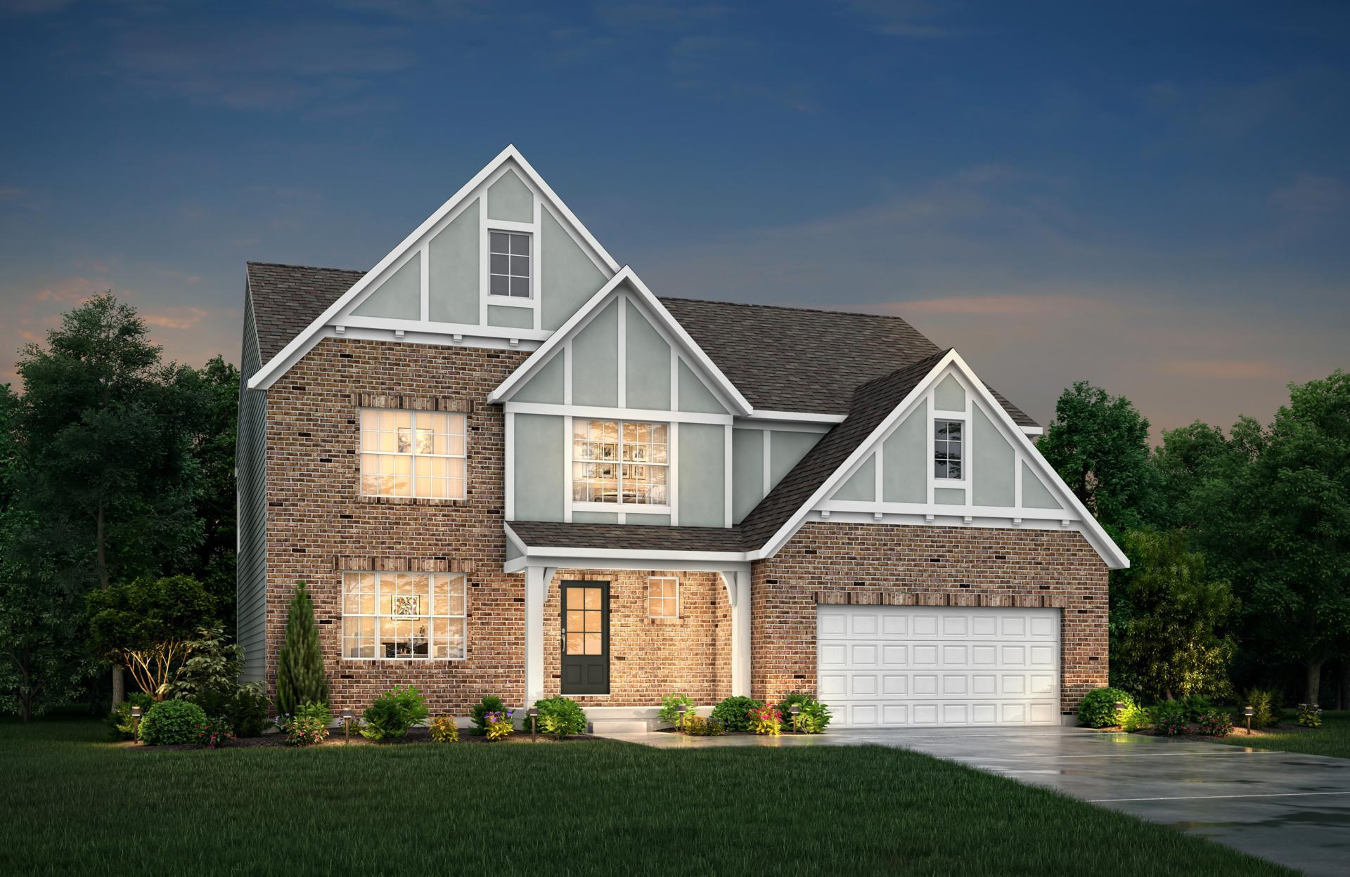 Exterior featured in the Alden By Drees Homes in Cleveland, OH