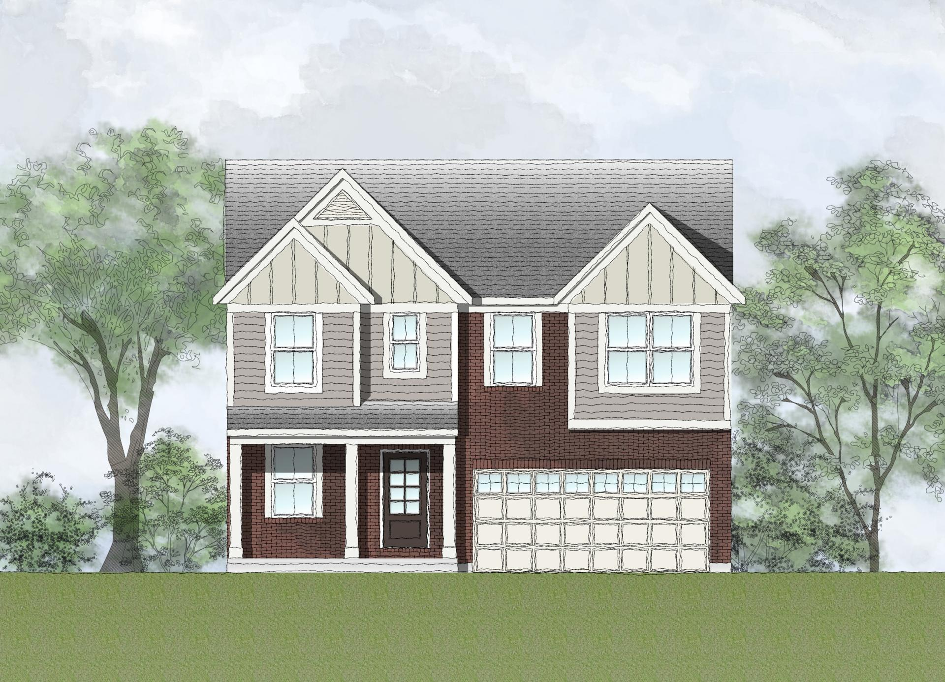Exterior featured in the Blair By Drees Homes in Cleveland, OH