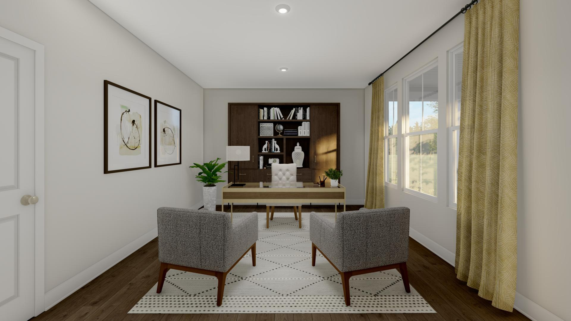 Living Area featured in the Lynton By Drees Homes in Cincinnati, KY
