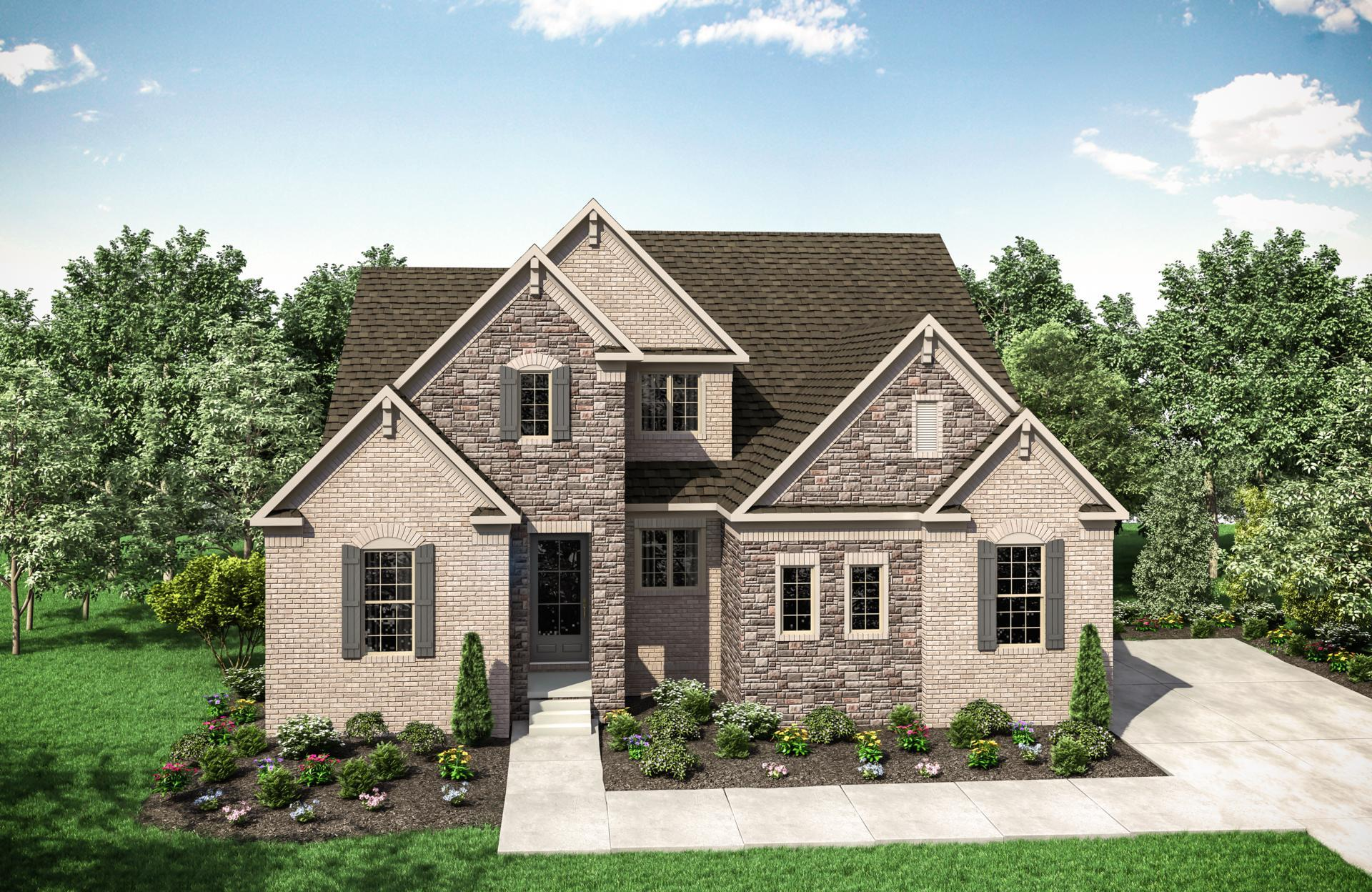 Exterior featured in the Colton By Drees Homes in Nashville, TN