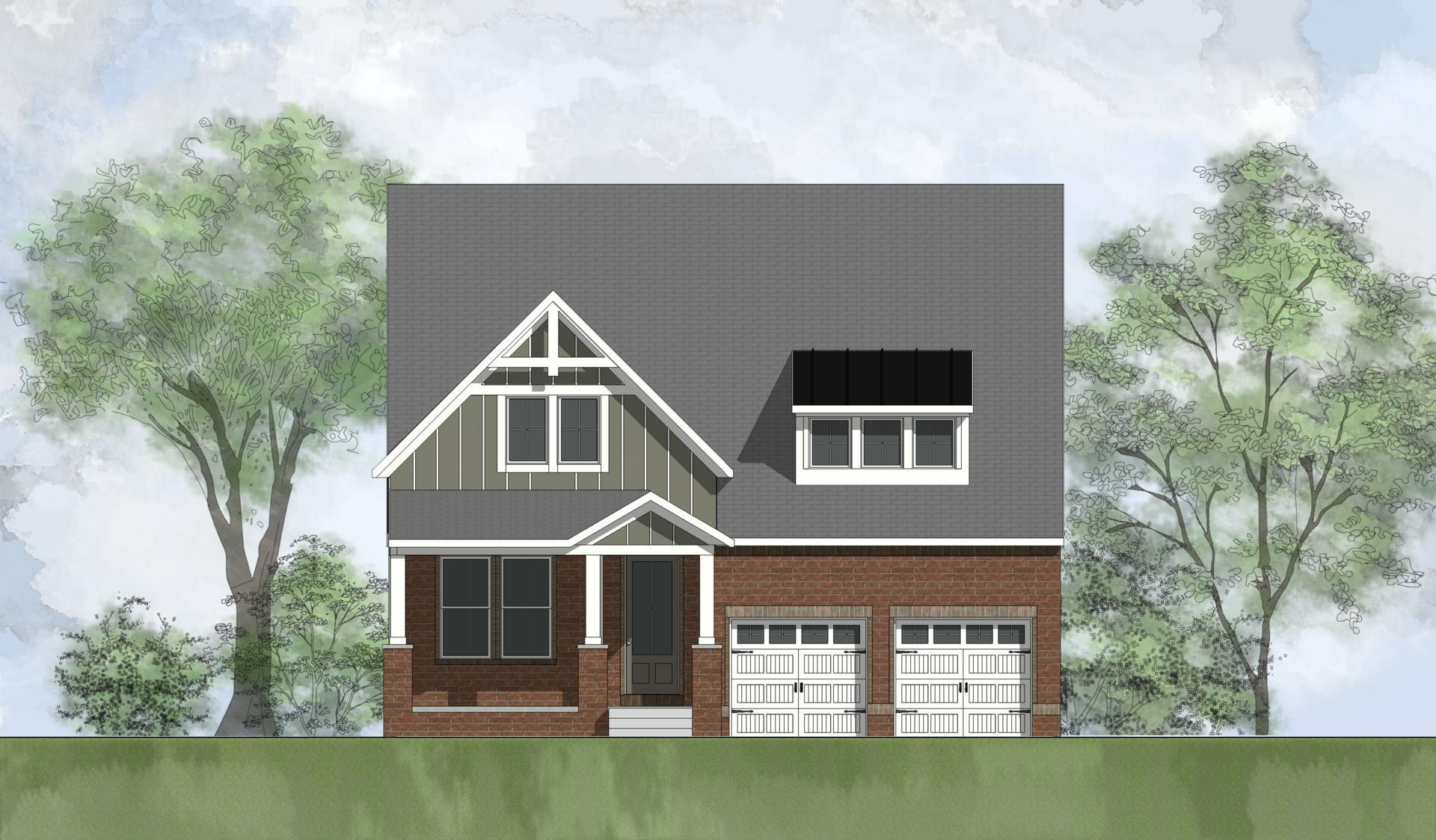 Exterior featured in the Adeline By Drees Homes in Nashville, TN