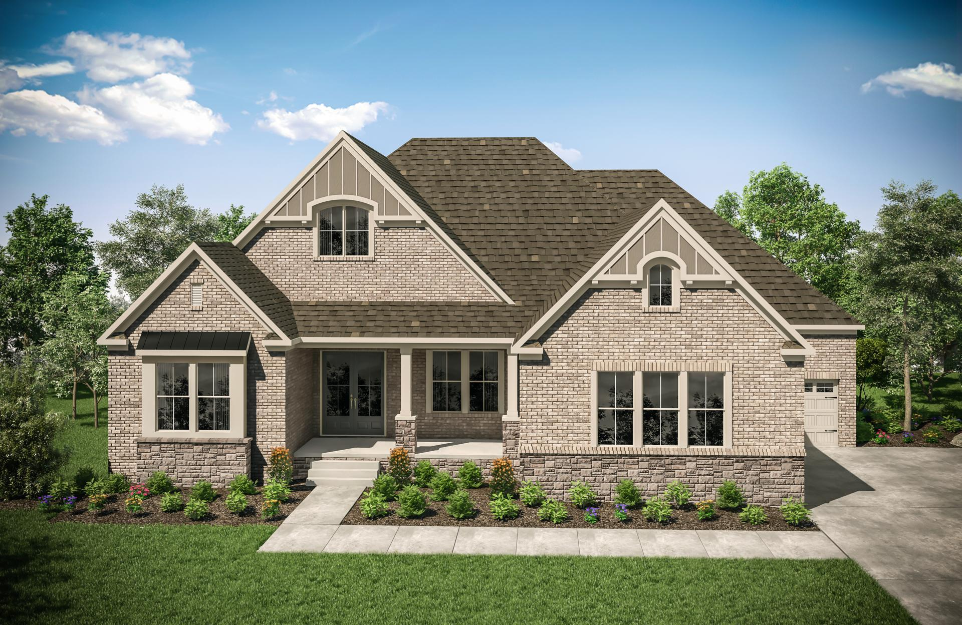 Exterior featured in the Elmsley By Drees Homes in Nashville, TN