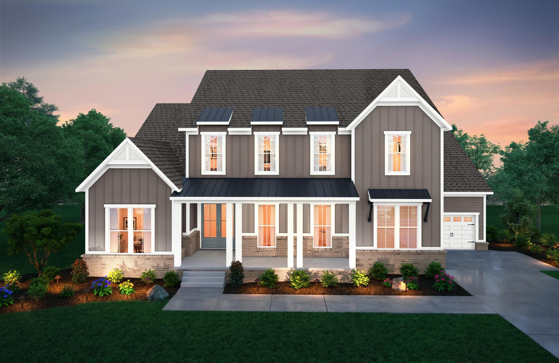 Exterior featured in the Marabelle By Drees Homes in Nashville, TN