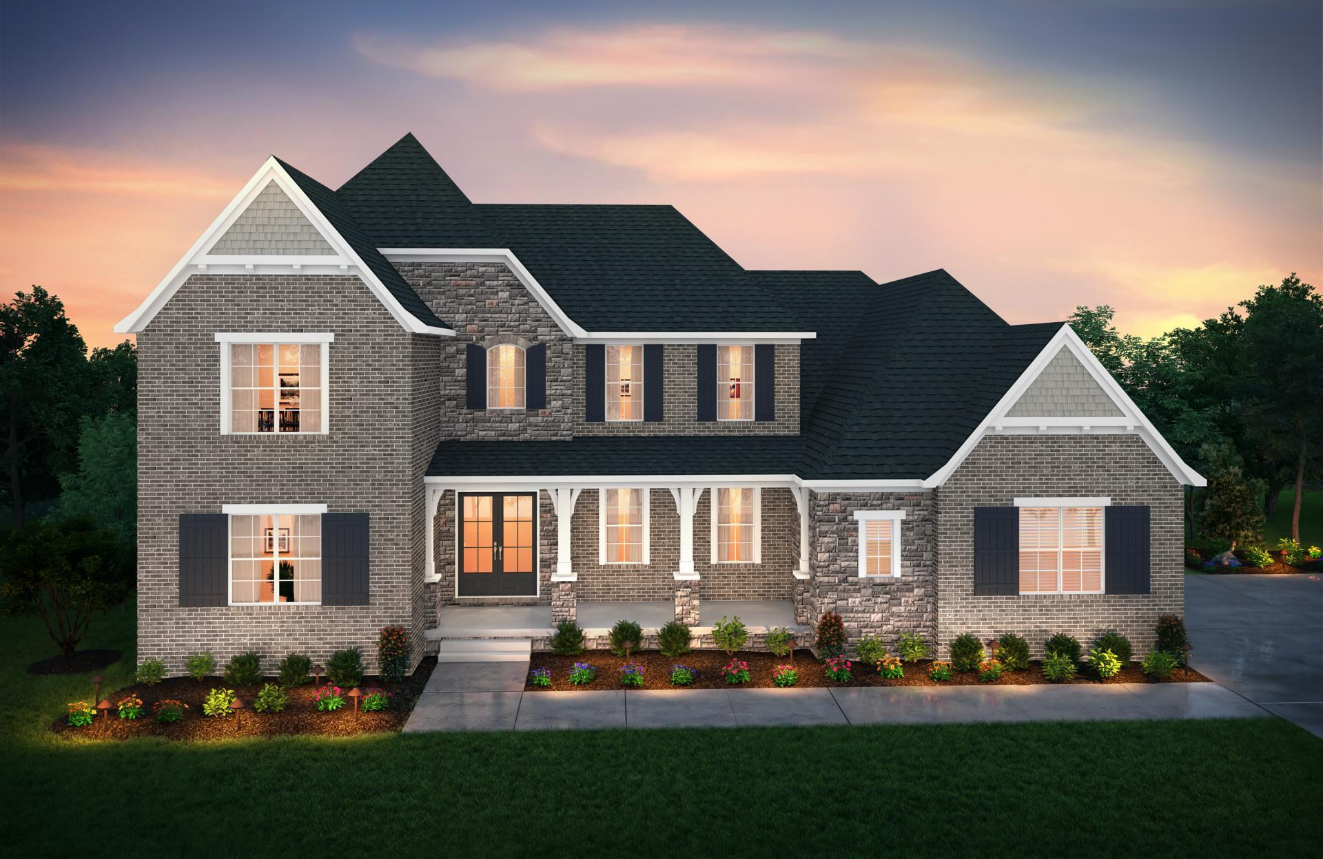 Exterior featured in the Rutledge By Drees Homes in Nashville, TN