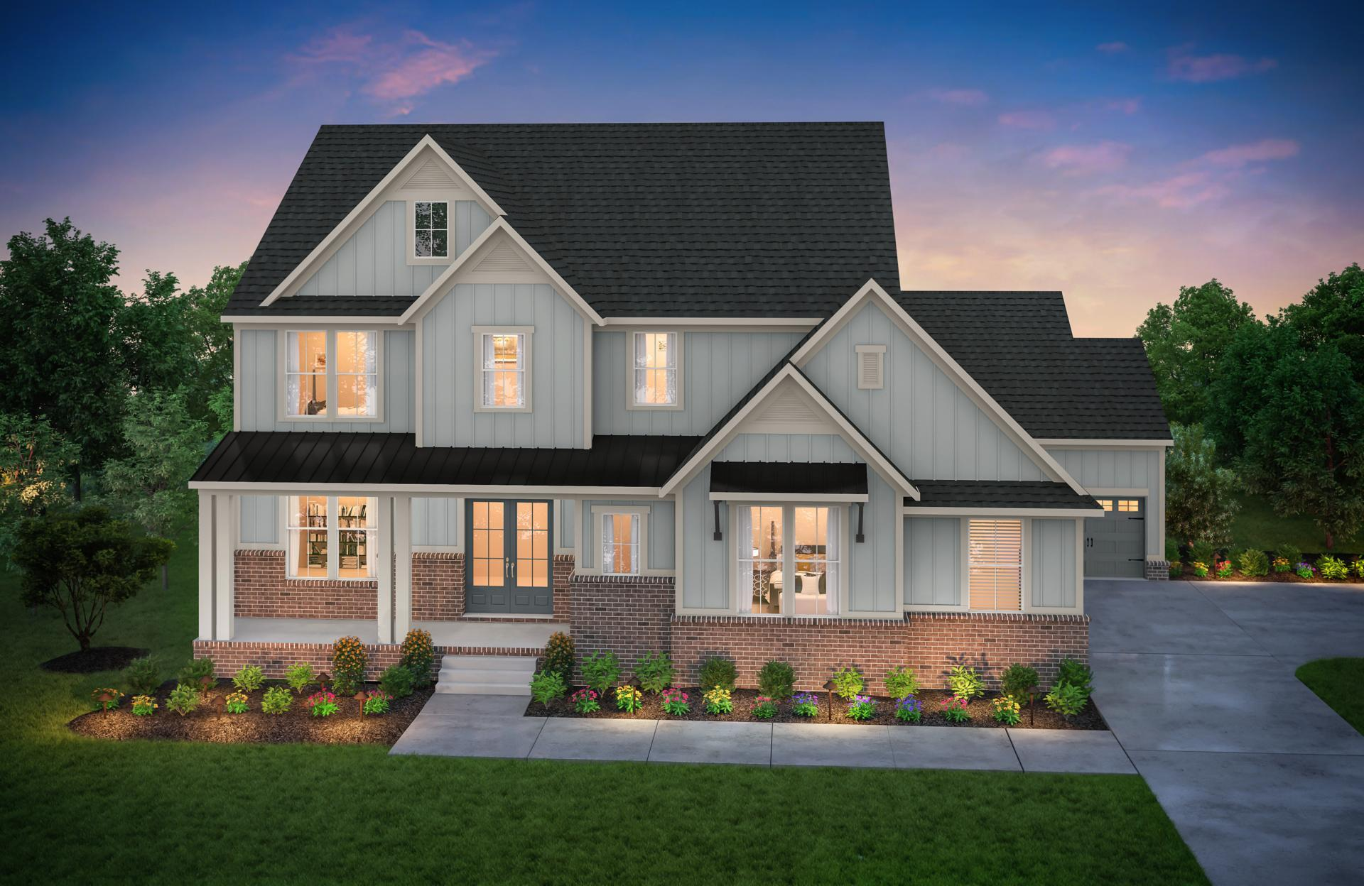 Exterior featured in the Belvidere By Drees Homes in Nashville, TN