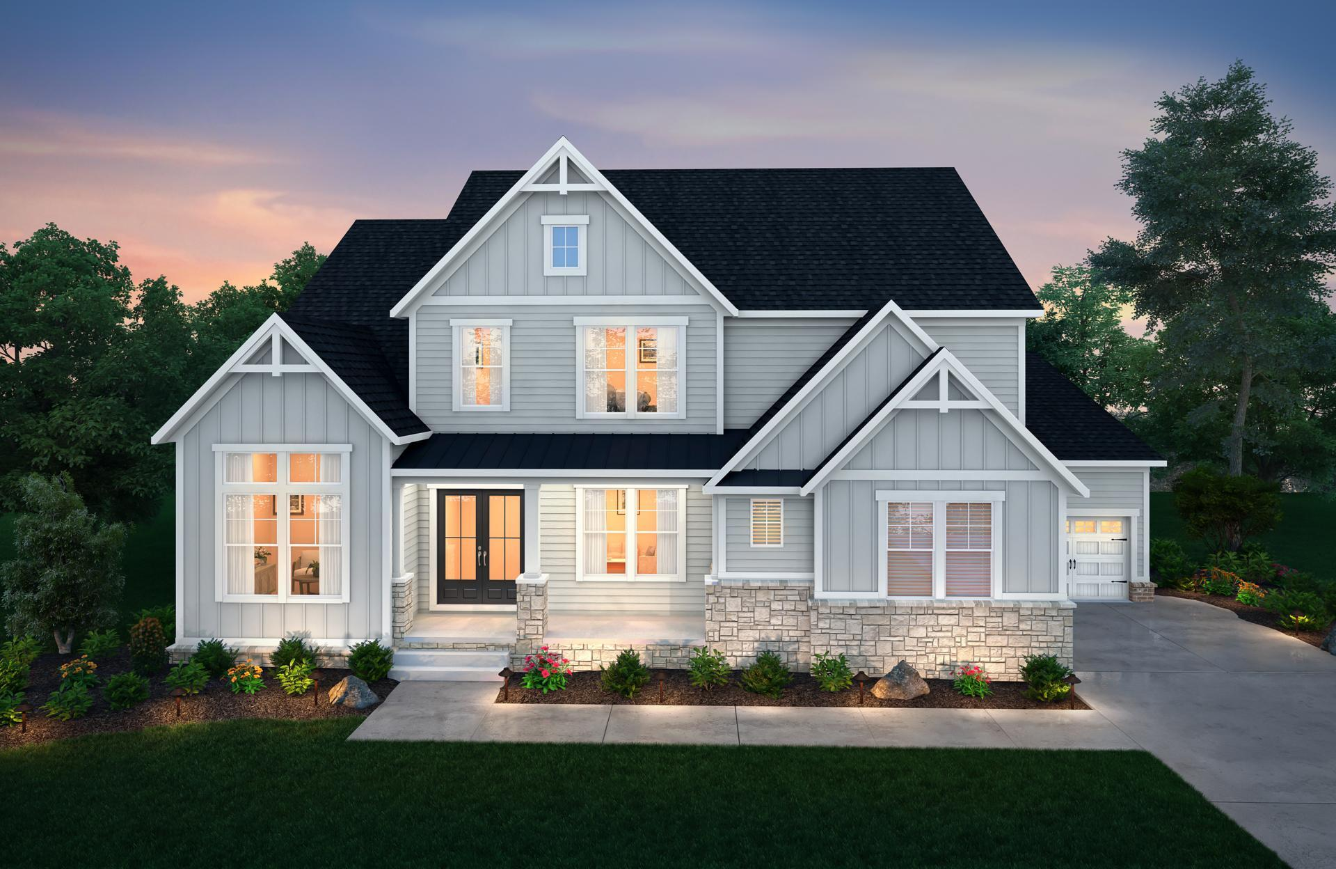 Exterior featured in the Wilshire By Drees Homes in Nashville, TN