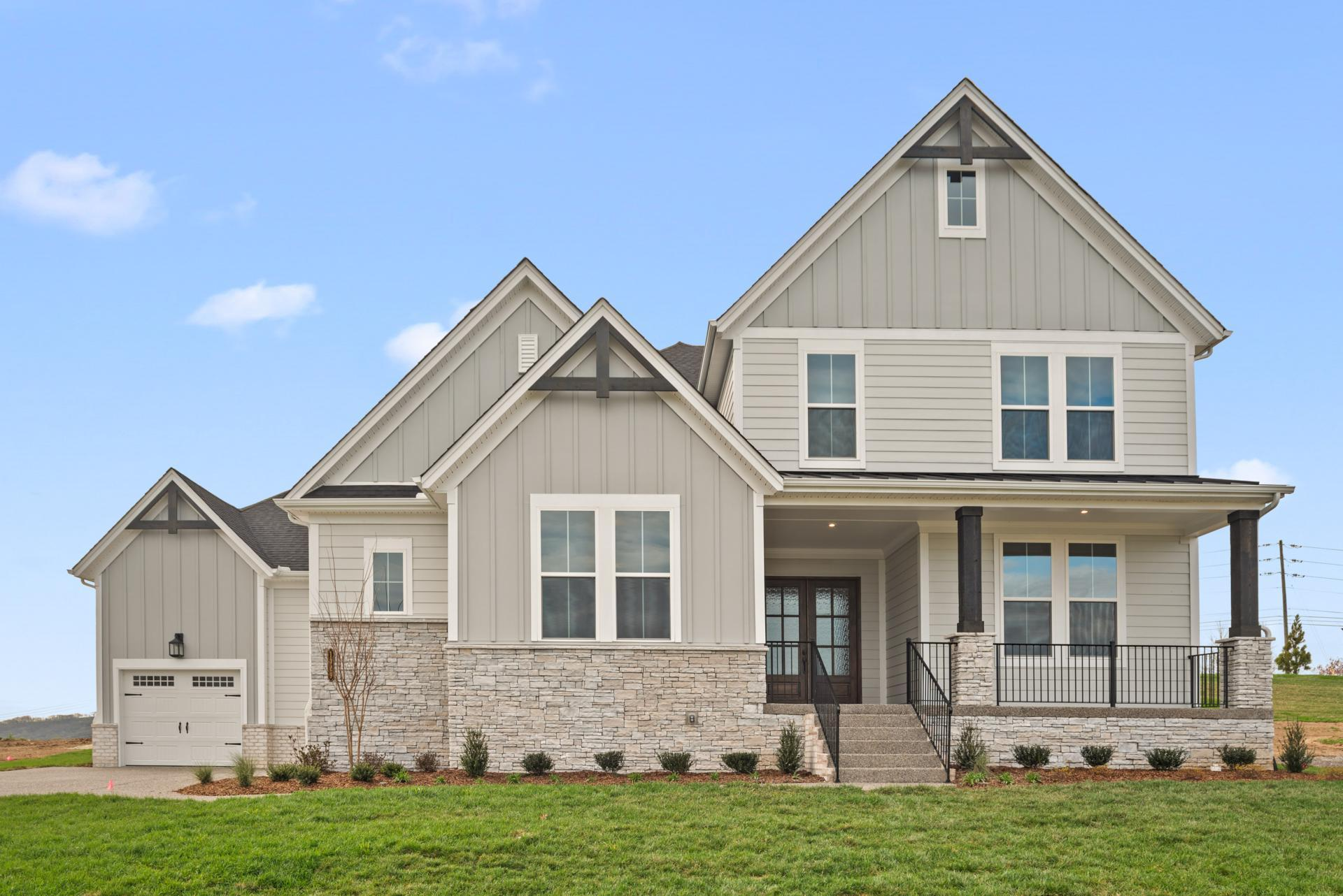 Exterior featured in the Ballentine By Drees Homes in Nashville, TN