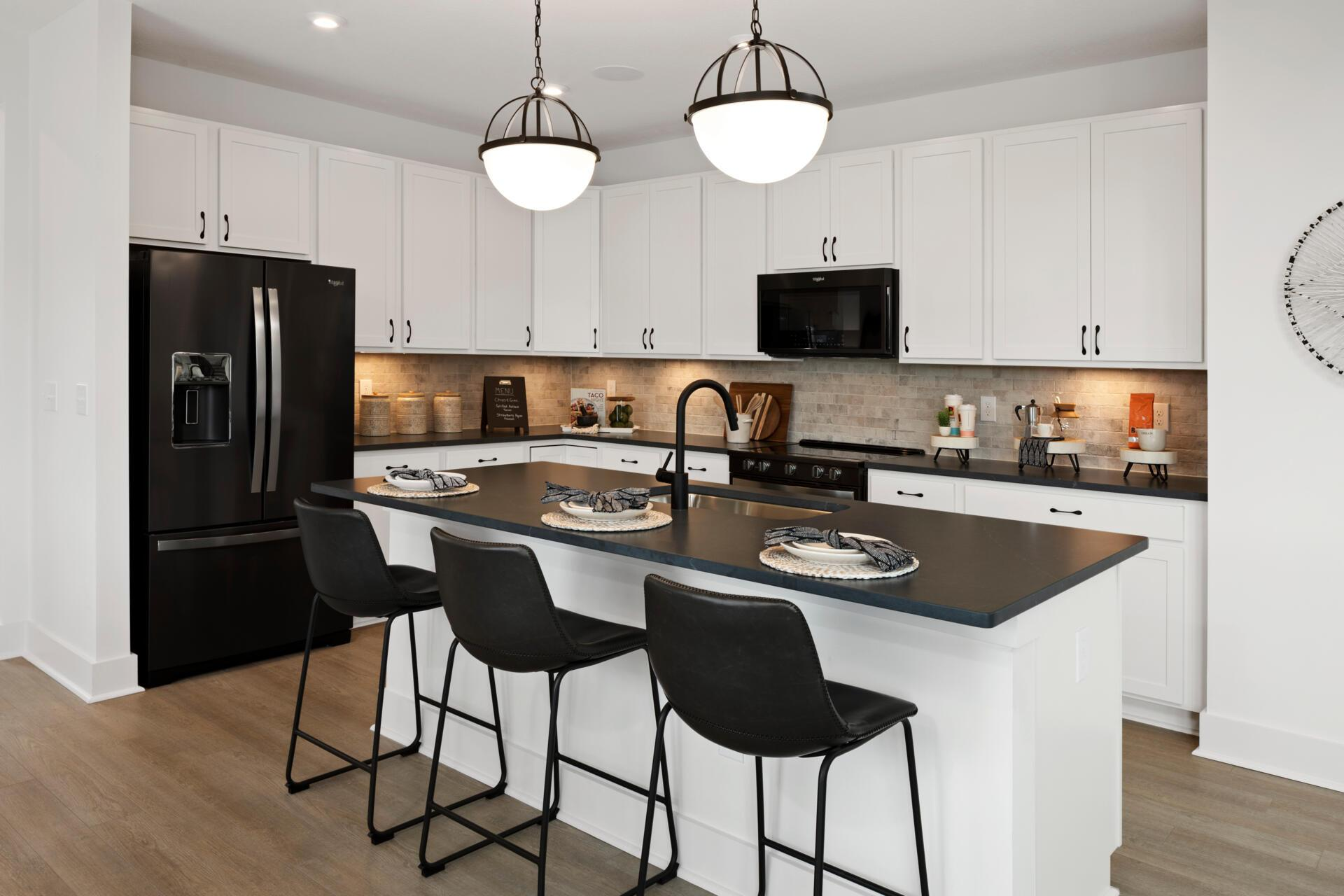 Kitchen featured in the Wembley By Drees Homes in Cincinnati, OH