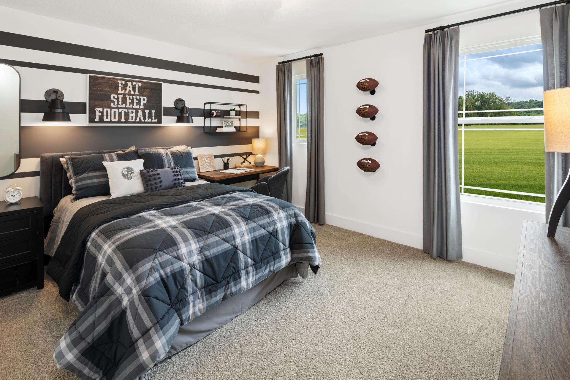 Bedroom featured in the Wembley By Drees Homes in Cincinnati, OH