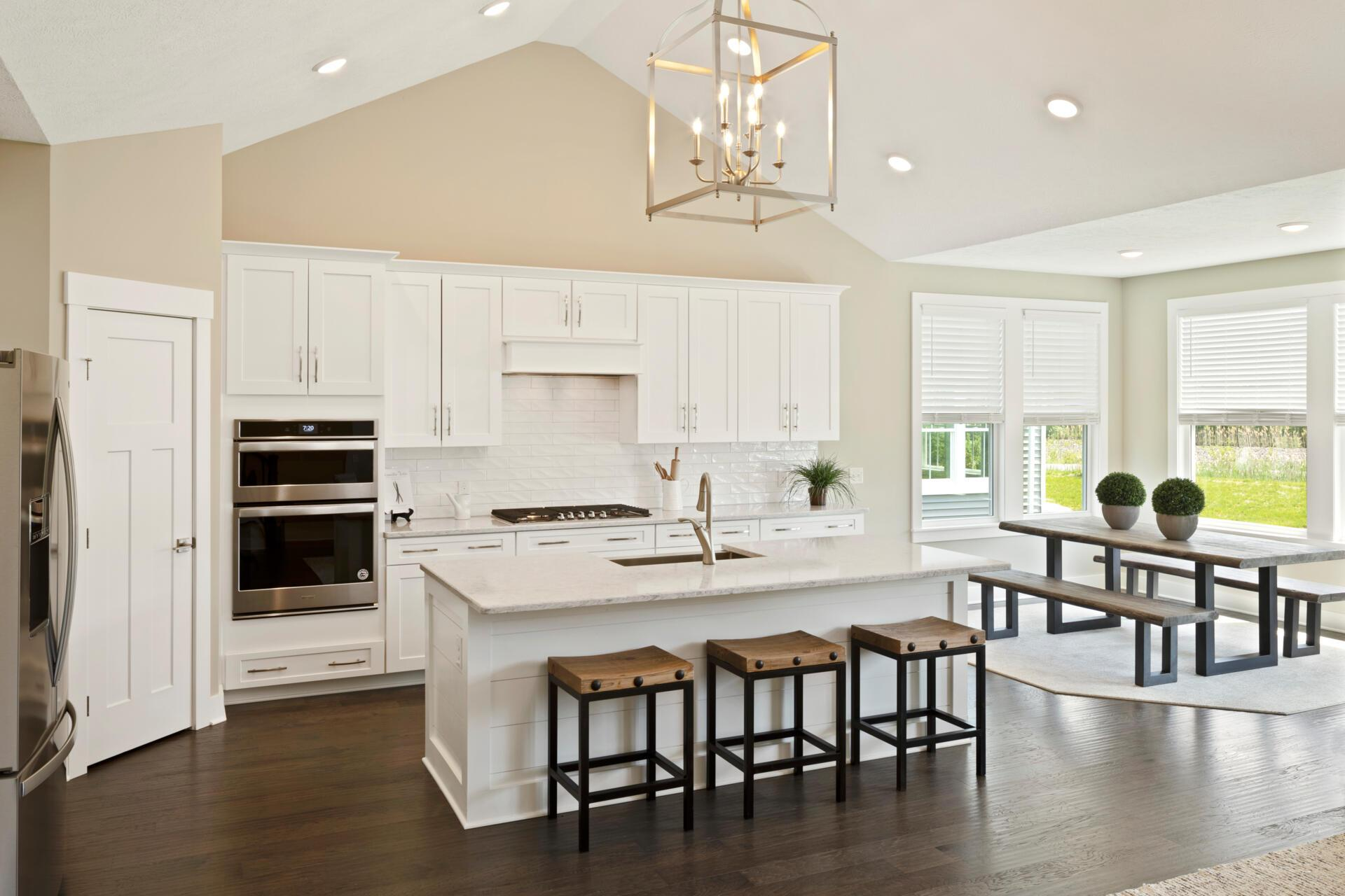 Kitchen featured in the Sarasota By Drees Homes in Cleveland, OH