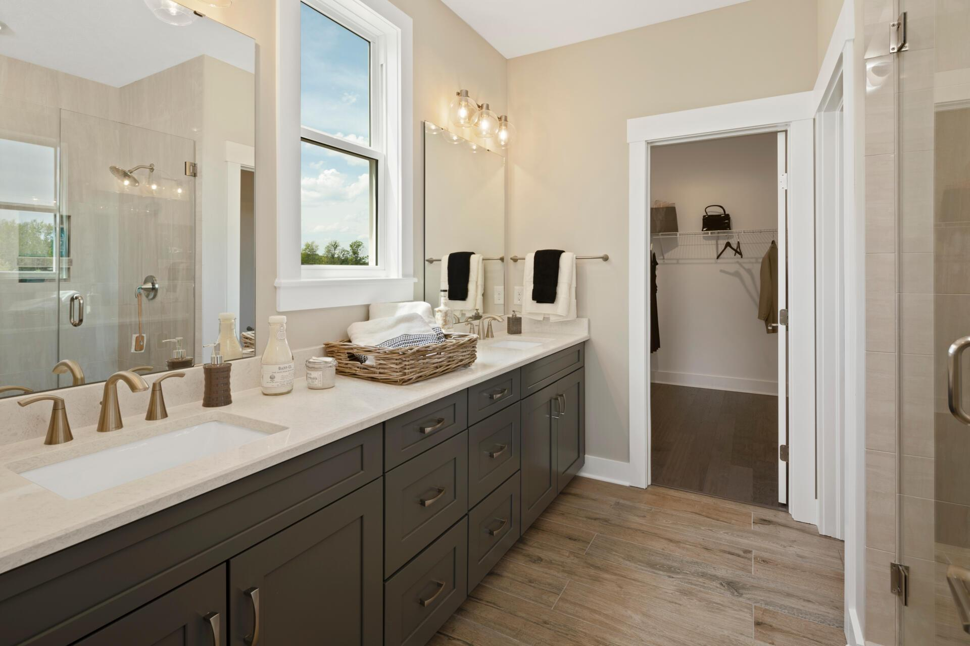 Bathroom featured in the Sarasota By Drees Homes in Cleveland, OH