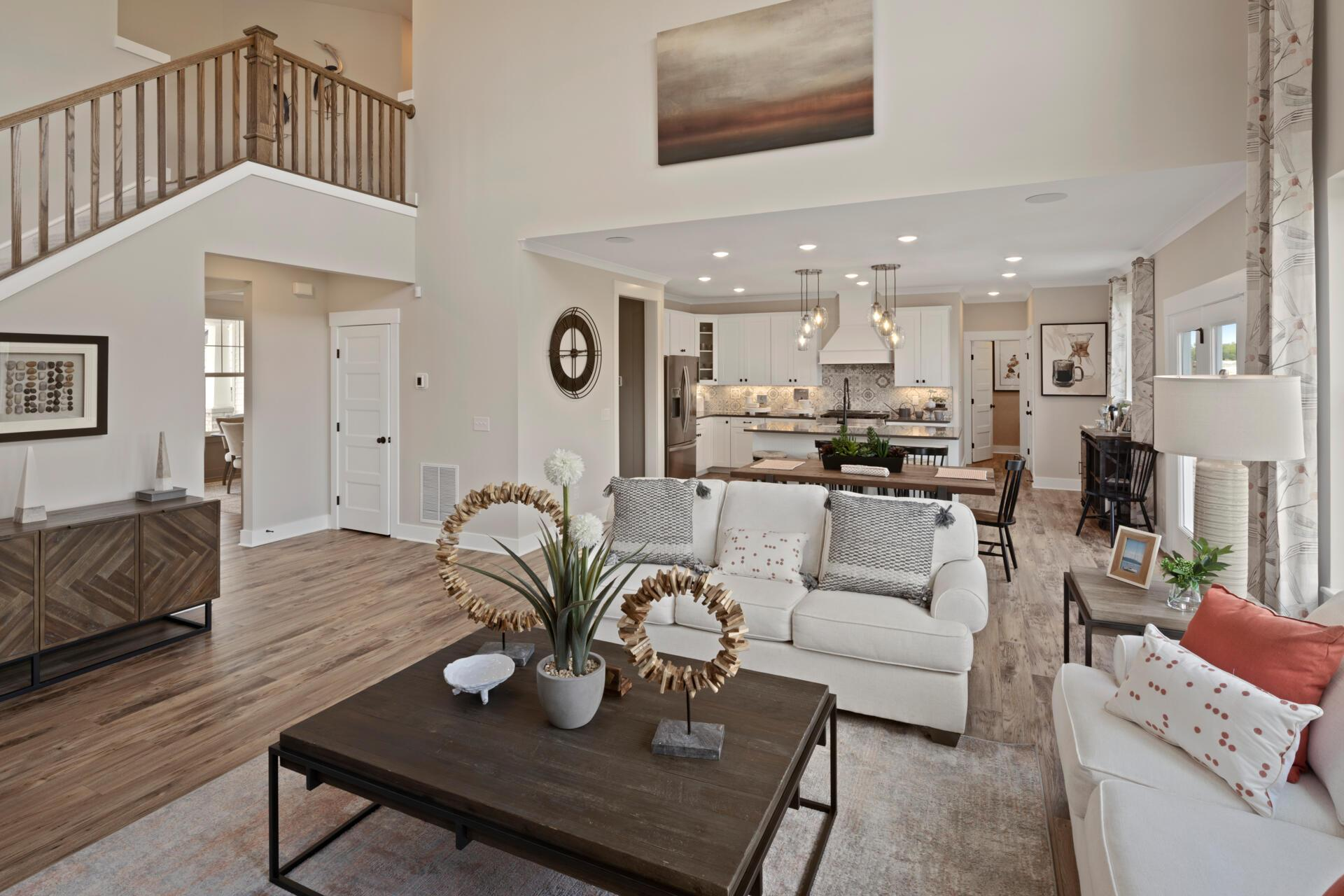 Living Area featured in the Buchanan By Drees Homes in Cleveland, OH