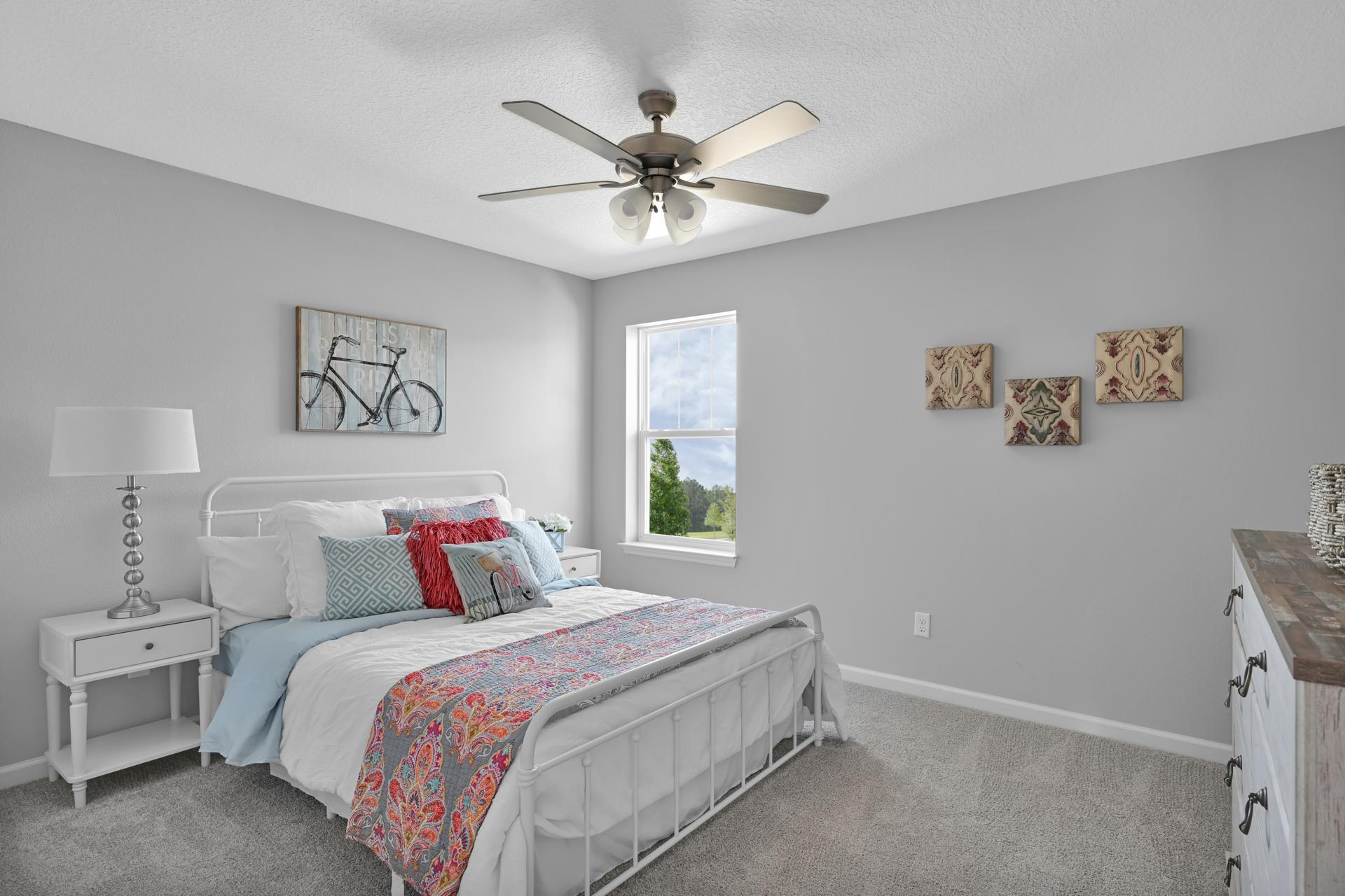 Bedroom featured in the Egret By Drees Homes in Jacksonville-St. Augustine, FL
