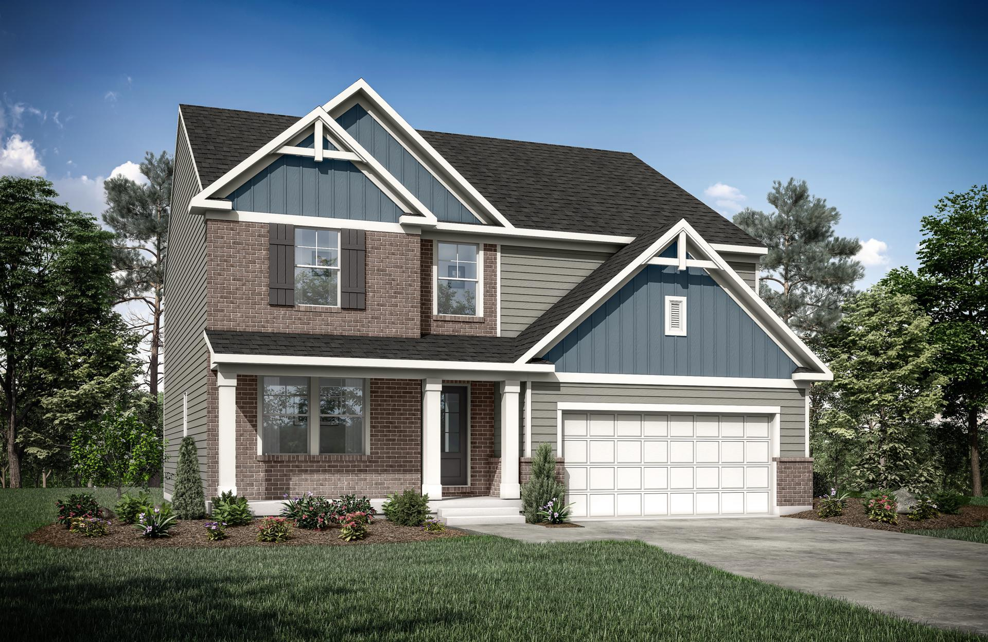 Exterior featured in the Northwood By Drees Homes in Cincinnati, KY