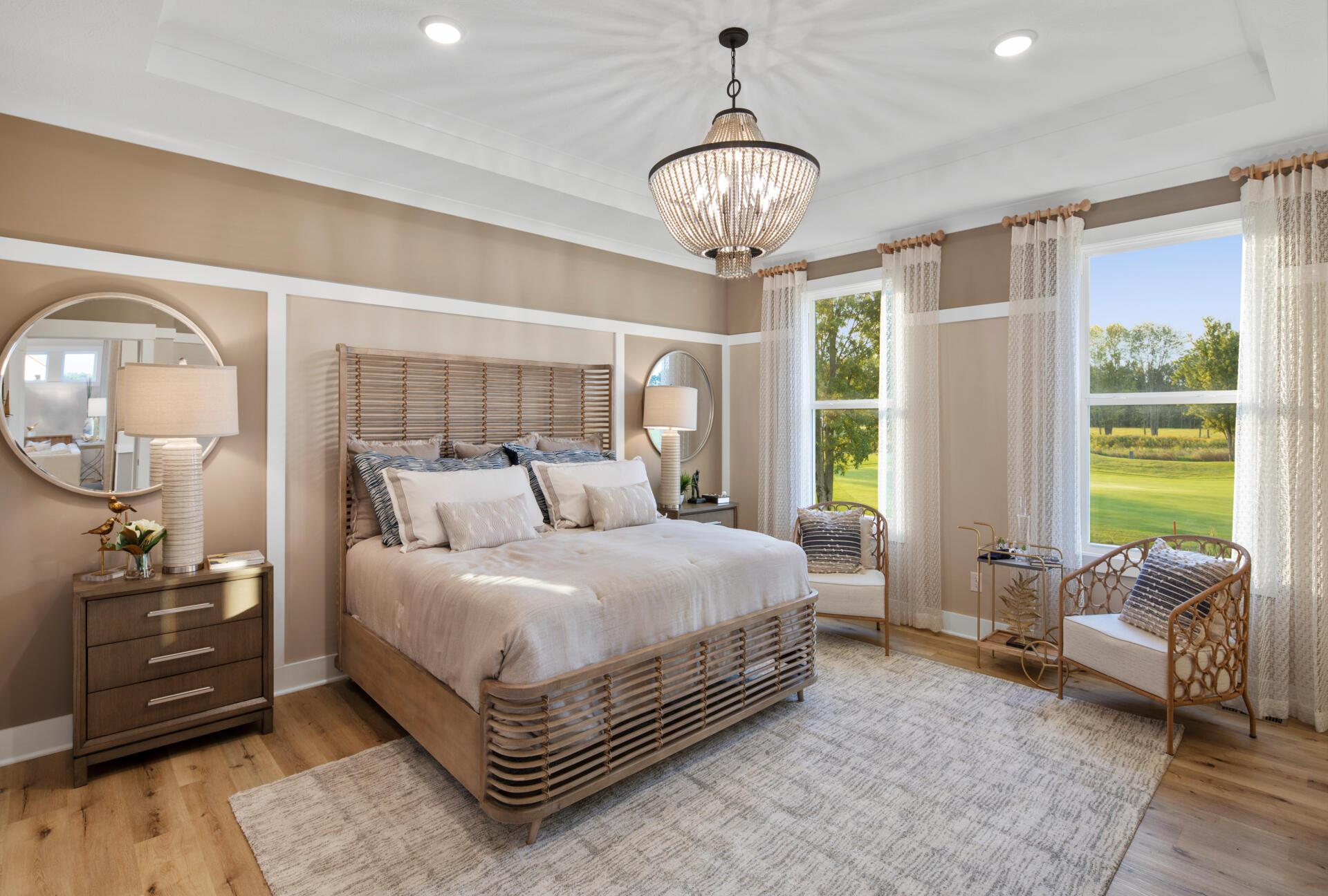 Bedroom featured in the Cohen By Drees Homes in Cleveland, OH
