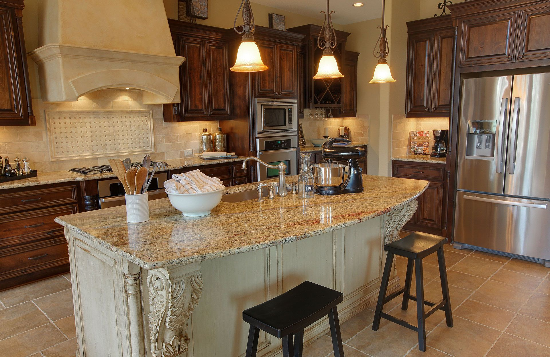 Kitchen-in-Kenwood-at-Northgate Ranch-in-Liberty Hill