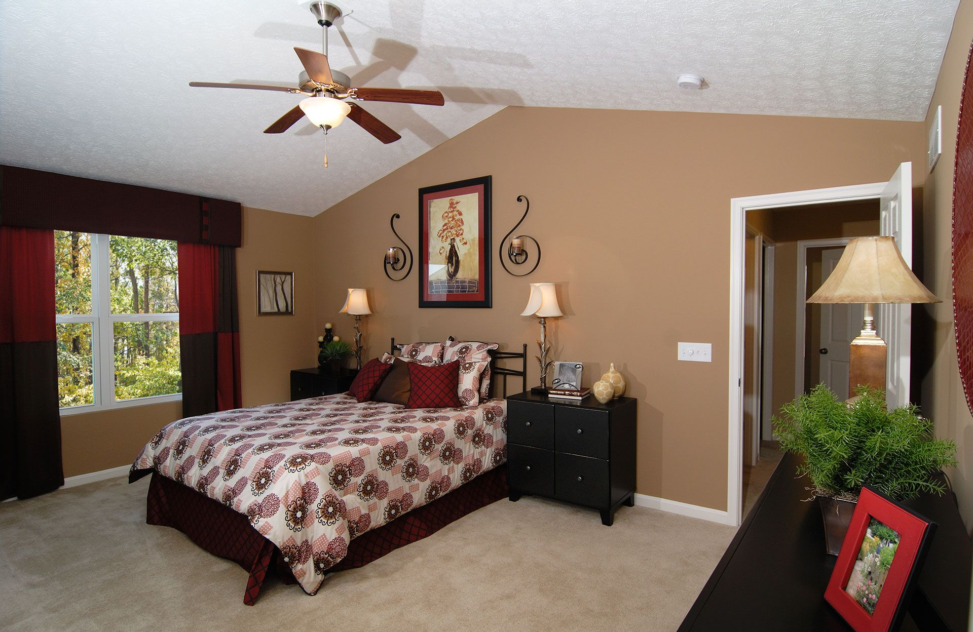 Bedroom featured in the Saxon By Drees Homes in Cincinnati, KY