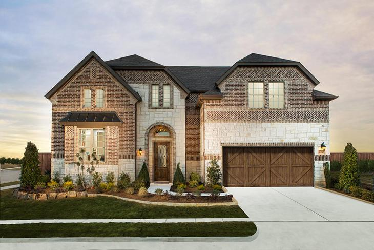 Dunhill Homes Harper Model Home in Miramonte Frisco, TX:Miramonte | Harper Model Home | 13715 Gibraltar Lane Frisco, TX