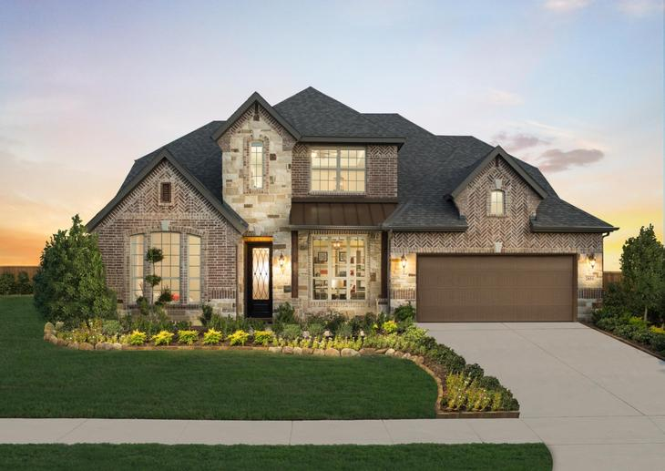 Dunhill Homes Scarlett Model Home at Parks at Legacy:Parks at Legacy | Scarlett Model Home | 2851 Cannon Drive Prosper, TX