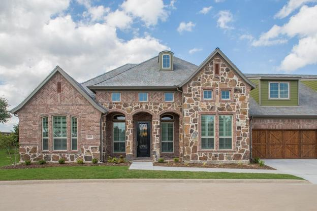 Retreat at Craig Ranch | Jackson Model Home | Front Exterior