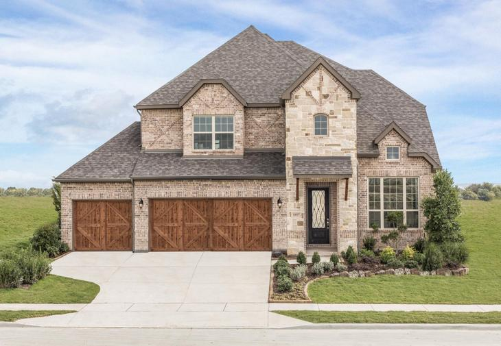 Dunhill Homes Ventana Annabelle Floor Plan:Ventana | Annabelle Floor Plan | 5557 High Bank Road Fort Worth, TX