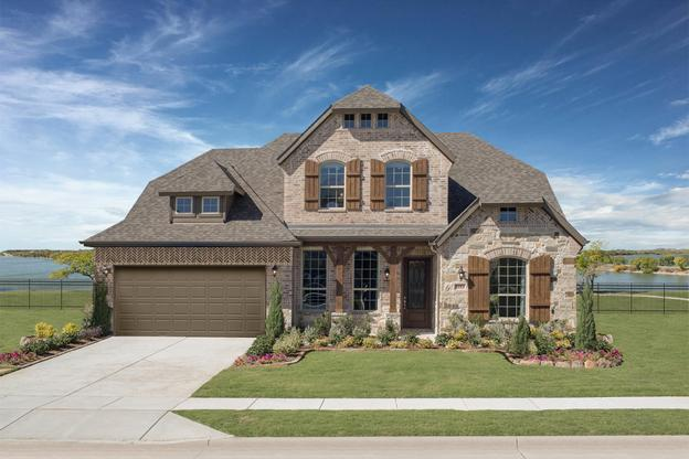 Vineyards | Scarlett Model Home | Front Exterior