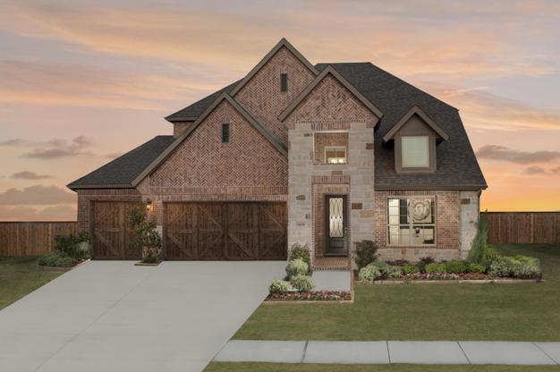 Glen View | Kinsley Model Home | 14636 Prairie Fire Drive | Frisco, TX