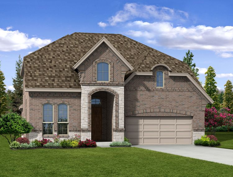 Kinsley - Exterior Elevation J