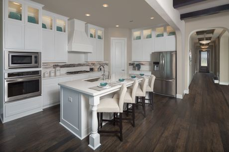 Kitchen-in-Scarlett-at-Valencia on the Lake-in-Little Elm