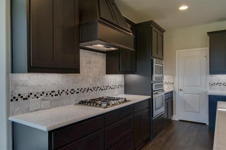 Kitchen-in-Camelot-at-Lakes of River Trails-in-Fort Worth