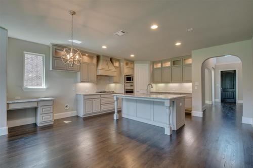 Kitchen-in-Summer-at-Lakeside Estates at Paloma Creek-in-Little Elm