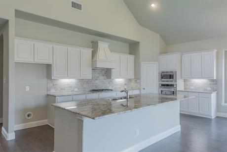 Kitchen-in-Kinsley-at-Glen View-in-Frisco